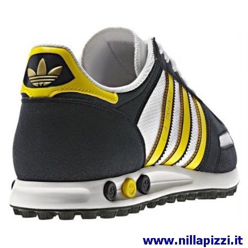 buy online 623d8 3c2ca Adidas Trainer Blu E Gialle