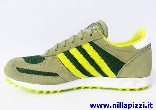 Adidas Trainer Giallo Fluo