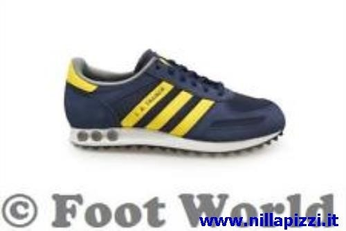 scarpe adidas trainer gialle