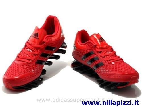 adidas trainer rosse