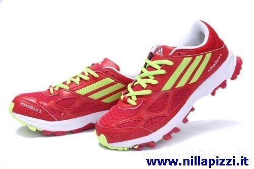adidas trainer uomo rosse