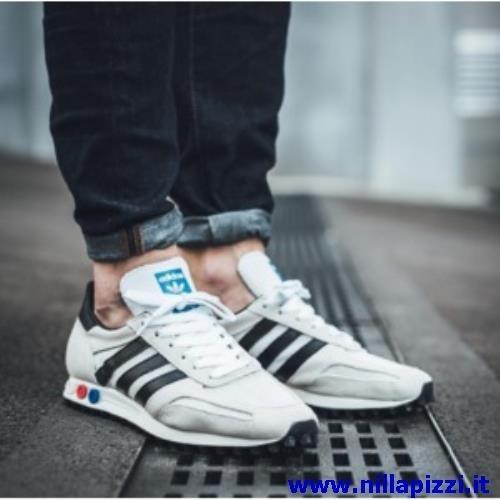 scarpe adidas trainer uomo bianche