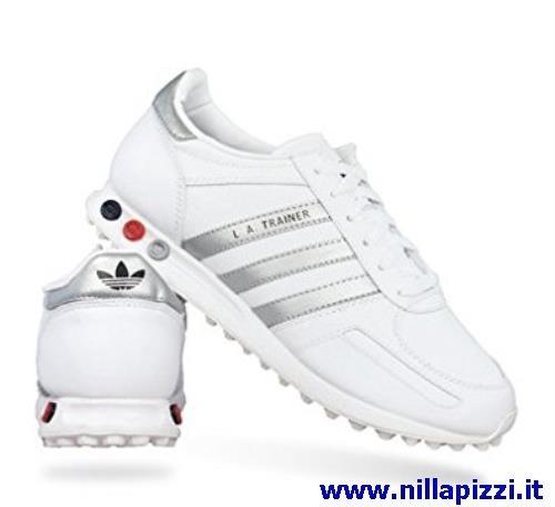 adidas trainer nere e bianche