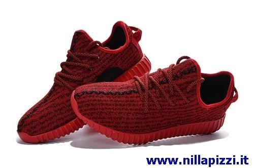 adidas rosse e nere