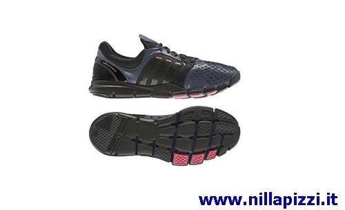 trainer adidas rosse e nere