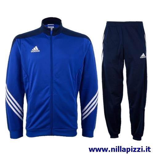 online store fb928 1b88a Tuta Adidas Rosa E Nera