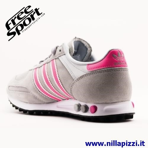 huge selection of 3190f d967b Adidas Trainer Nere E Rosa