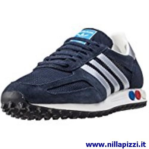 adidas trainer nere e rosse