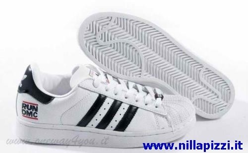 scarpe uomo adidas bianche