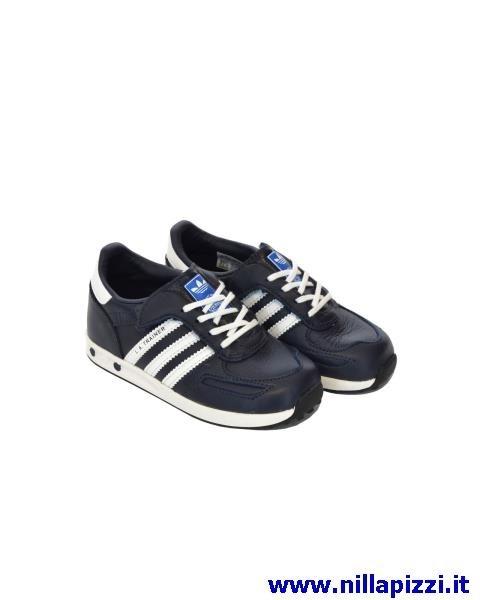 scarpe adidas trainer bambino