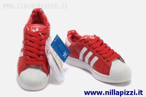 adidas bianche rosse e blu