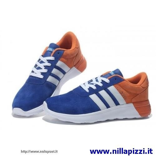 adidas trainer blu e arancio