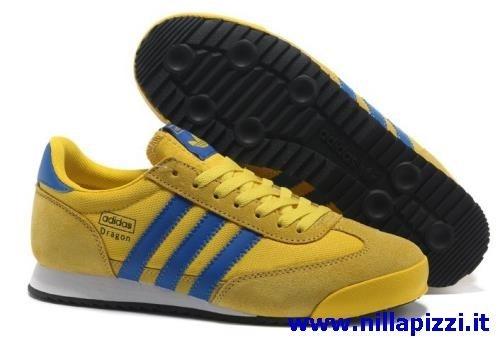 adidas trainer gialle blu