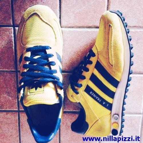 adidas trainer gialle e nere