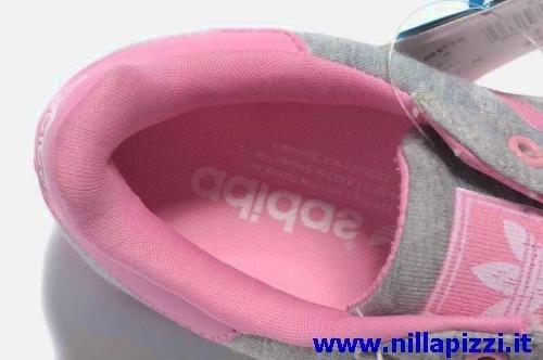 adidas trainer grigie e rosa