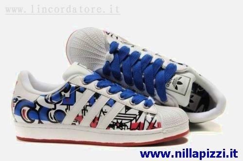 competitive price b2b46 bf5c7 scarpe adidas blu e bianche