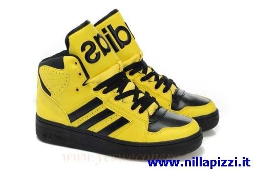 scarpe adidas gialle uomo