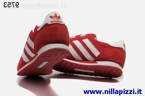 scarpe adidas rosse uomo