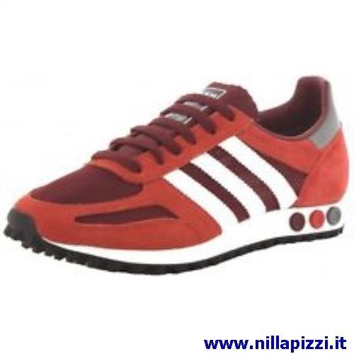 scarpe adidas rosse
