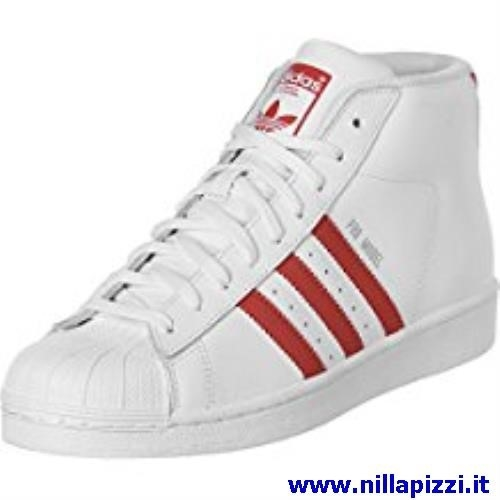 adidas trainer bianche in pelle