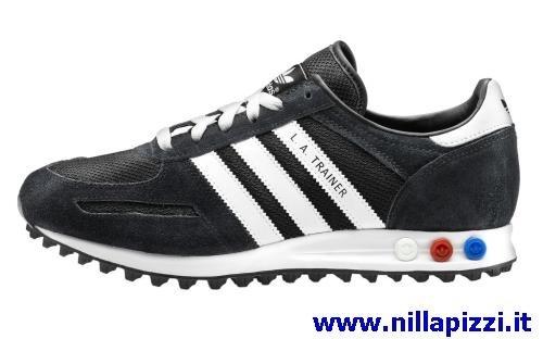 adidas trainer nere uomo
