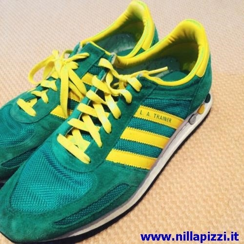 adidas trainer gialle uomo