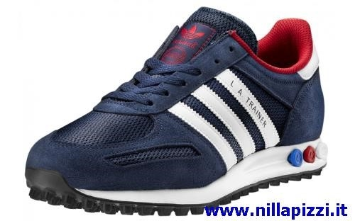 scarpe adidas trainer uomo blu