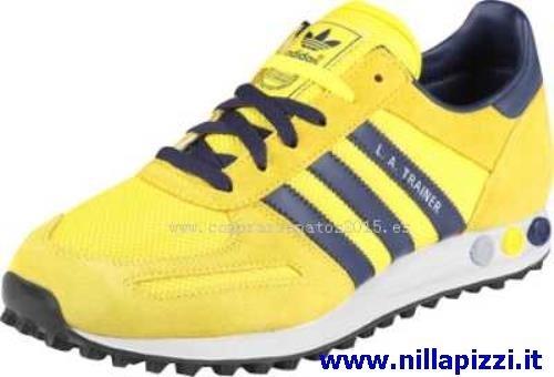 adidas la trainer uomo gialle