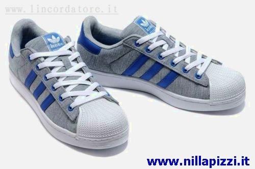 adidas alte bianche e blu