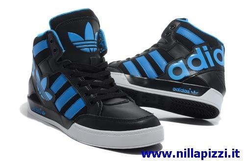adidas alte nere e blu