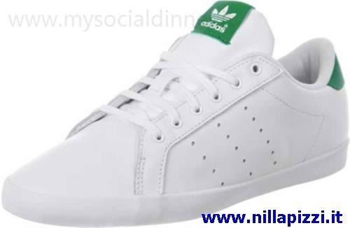 adidas scarpe bianche e verdi