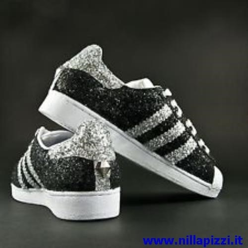 adidas nere glitter