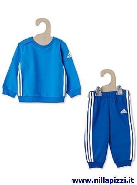 vestiti neonato adidas
