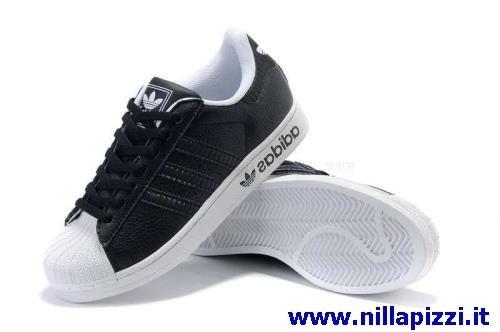 adidas bianche e nere alte