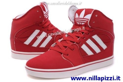 adidas uomo scarpe rosse