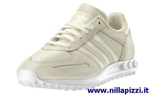 scarpe adidas trainer bianche