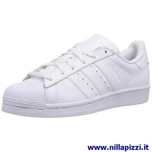 adidas trainer bianche pelle