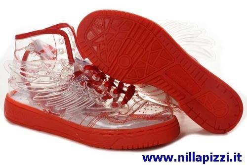 scarpe adidas uomo rosse
