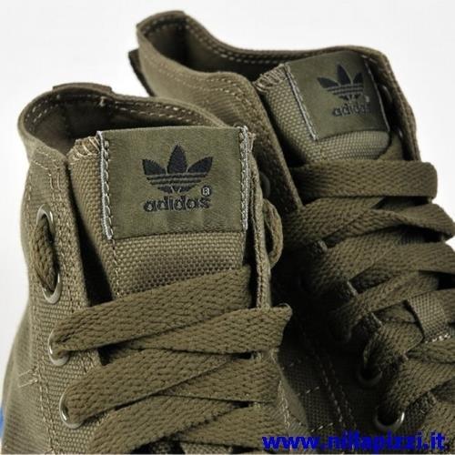 scarpe adidas verdi alte