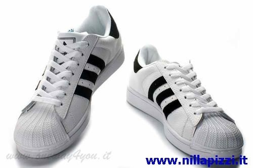 scarpe adidas uomo bianche