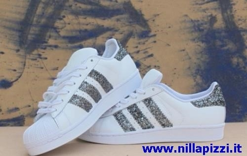scarpe glitter adidas