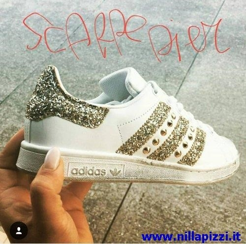 scarpe adidas donna glitter