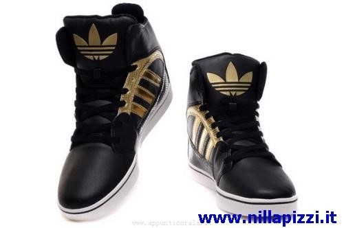 scarpe adidas alte nere
