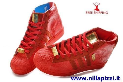 Scarpe Adidas Alte In Pelle