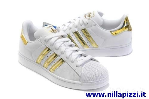 info for bbe8d e7357 adidas scarpe bianche oro
