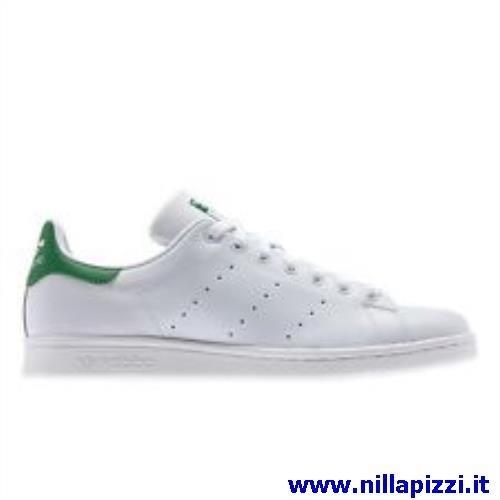 scarpe adidas verdi e bianche