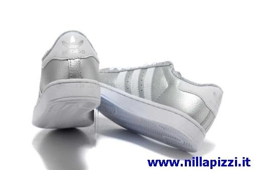 scarpe adidas donna bianche e argento