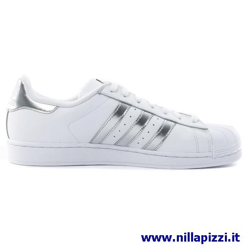 Scarpe Adidas Bianche E Argento