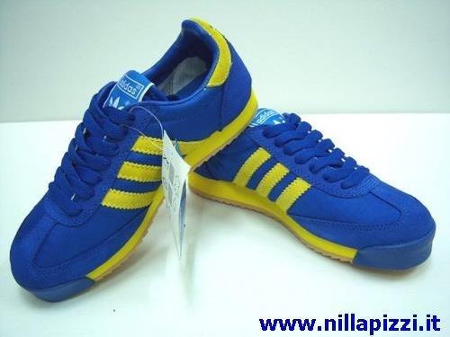 Scarpe Adidas Gialle Blu nillapizzi.it
