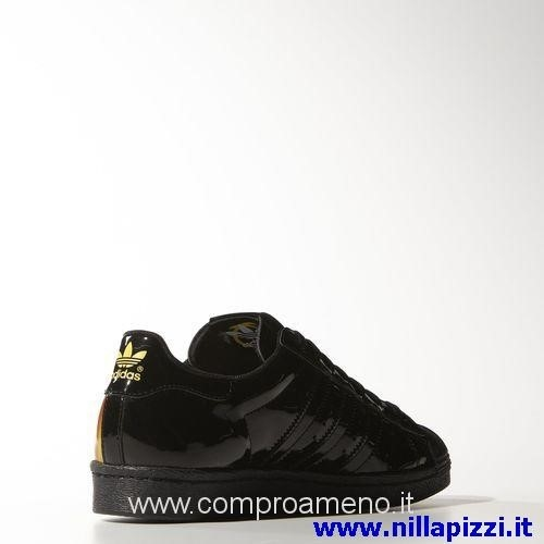 adidas nere lucide